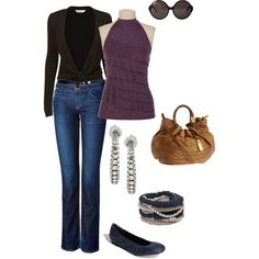 casual flare. The super cute top is from Maurices!