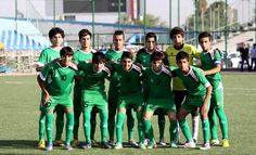 #Iraq under 14's #football team beat #Korea 3-0 in #Tehran to win the #AsianCup :-)