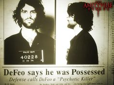The Amityville Horror.  The real Ronald DeFeo at the time of his arrest;  right after the murders