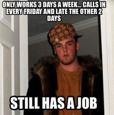 Work Meme | Meme Creator - Gets in early to work to avoid blizzard traffic Boss ...