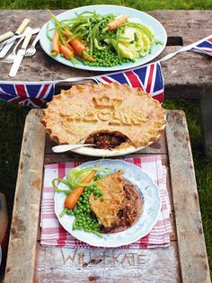 Kate and Will's Wedding Pie Jamie Oliver