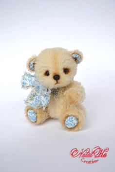 "Artist Teddy Bear ""Bantik"" - handmade, unique, collectible toy on Etsy, €50,74"