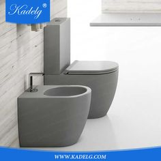 Source Modern Bathroom Grey Two piece Matt Toilet on m.alibaba.com Flush Toilet, Toilet Bowl, Grey Bathrooms, Modern Bathroom, Grey Toilet, Grey Two Piece, Sink, Bathtub, House