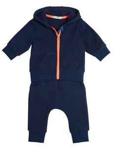 BILLYBANDIT - HOODED SWEATSHIRT & JOGGING PANTS SET - NAVY