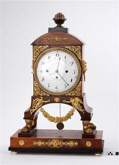 Clock by  Peter Rau, (born 1780-) Clockmaker Wien, made 1810