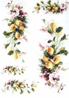 Rice Paper for Decoupage Scrapbooking Sheet Craft Vintage Garden Flowers 1/1 | eBay