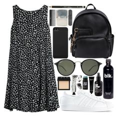 """you're ready"" by velvet-ears ❤ liked on Polyvore featuring MANGO, adidas, Dsquared2, Ray-Ban, Incase, Rimmel, NARS Cosmetics, Bobbi Brown Cosmetics, Allurez and Miss Selfridge"
