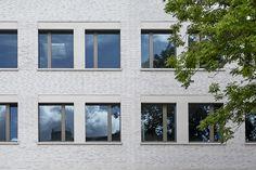Neubau Gymnasium Hoheluft, Fassade, © Jochen Stüber