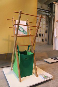 Entwurf von Studentin Desiree Koller #Ent.Faltung.Wandelbare Möbel für #Gea #Viennadesignweek2015