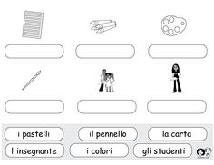school worksheets italian