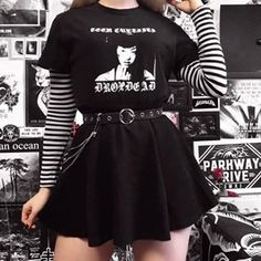 4 or 5 ? 4 or 5 ? Source by emmagmcpherson Fashion outfits Cute Emo Outfits, Outfits Casual, Punk Outfits, Gothic Outfits, Mode Outfits, Korean Outfits, Grunge Outfits, Egirl Fashion, Grunge Fashion