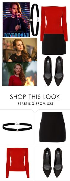 """""""Cheryl blossom"""" by buesosanchez ❤ liked on Polyvore featuring Amanda Rose Collection, Givenchy and Karen Millen"""