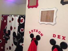 Minnie and Mickey bathroom