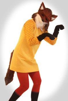 Superb Homemade Halloween: Fantastic Fox. Cheap Halloween CostumesFox ...