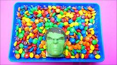 Hulk Candy Head - M&M's Hide & Surprise Game - Monsters & Eeyore
