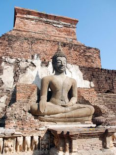The Buddha - Sukhothai, Thailand ~~ Shared for your consideration and review.