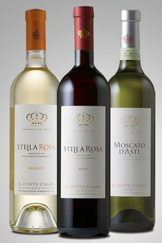 I<3 this brand of Stella Rosa and Moscato. I must try the white one ;p
