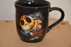Black The Nightmare Before Christmas mug