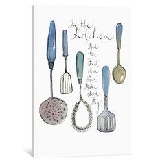 Vintage utensils Kitchen art print Retro by lucileskitchen on Etsy Blue Kitchen Decor, Kitchen Art, Kitchen Tools, Vintage Kitchen, Kitchen Drawing, Kitchen Ideas, Kitchen Canvas, Turquoise Kitchen, Kitchen Posters
