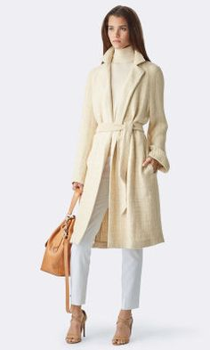 Sidney Wrap Coat - Collection Apparel Outerwear - RalphLauren.com