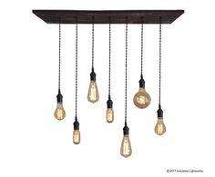 Urban Industrial Pendant Light Chandelier  Restaurant