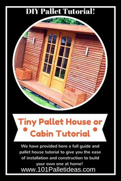 DIY Tiny house Made From Pallets