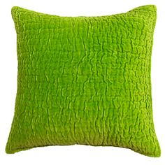 Evan Lime Green Decorative Pillow | Overstock.com Shopping - Great Deals on Cottage Home Throw Pillows