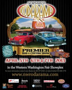Northwest Rodarama Rod and Custom Show Puyallup, WA #Kids #Events