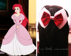 "Ariel Inspired Bow - ""On Legs, On Human Legs"""