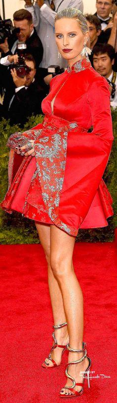 Karolina Kurkova in Tommy Hilfiger & Fred Leighton Jewelry ♔ Très Haute Diva ♔