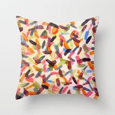 Sprinkles Throw Pillow by Rachel Winkelman - $20.00