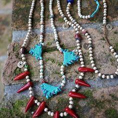 Bohemian handmade jewelry Your boho chic online shop.. Boho necklaces, Bohostyle jewelry, Bohemian necklaces