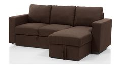 Kowloon Sectional Sofa Cum Bed with Storage