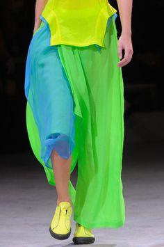 ❤️ the Colours - Yohji Yamamoto Spring 2014 - Details
