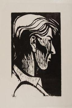 Baskin, Leonard - Japanese Head (print)