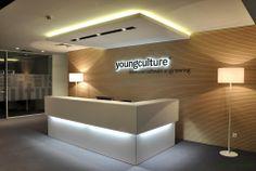 Aleksandar Savikin designed the 'Youngculture' in Belgrade, Serbia. http://en.51arch.com/2014/03/a0604-youngculture/