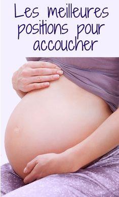 Sur le dos, le côté, accroupie, assise… La bonne position pour donner naissance à votre tout-petit, ce sera celle où vous vous sentirez le plus à l'aise. #accouchement #grossesse #enceinte