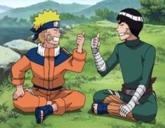 Naruto and Lee