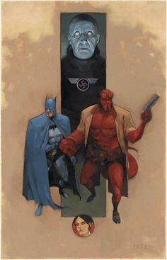 Batman & Hellboy - Phil Noto