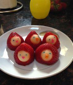 GraceLinBlog: strawberry ducks