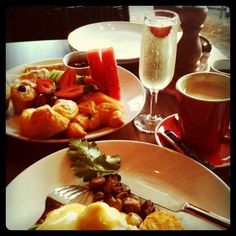 Champagne breakfast. Melicious: behind the scenes 07.06.12 - sydney edition!