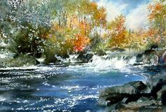 First Color by watercolor artist Nita Engle
