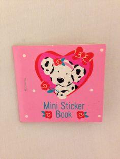 Sanrio Mini Sticker Book Spotty Dottie Vintage