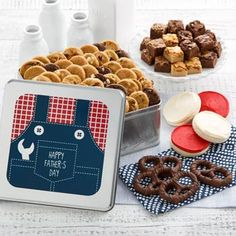 Mrs. Fields® Father's Day Classic Cookie Gift Box. See more at www.pro-gift-baskets.com!
