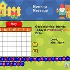Interactive Smartboard Calendar K Common Core Aligned!