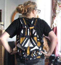 Backpack : DIY Project: Homemade Backpack