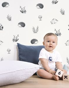 Animals Forest Wallpaper - Silk Interiors Wallpaper Australia.   Available from www.silkinteirors.com.au #wallpaper #wallpaperforwalls #kidswallpaper #nursery