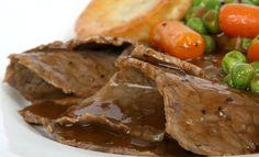 Receta fácil de roast beef tradicional