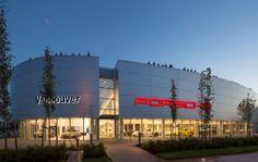 Porsche Centre Vancouver - Canada's 1st new concept Porsche ...