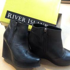 Brand new River Island Boots, Boot Brands, Clothes Line, Brand New, Events, Ankle, Shoes, Fashion, Zapatos
